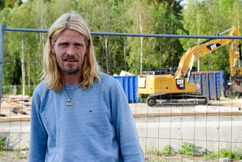 BEKYMRET FAU-LEDER: Torgeir Dølerud og FAU ved Ullerål skole krever strakstiltak for å få ned farten på Rabba.