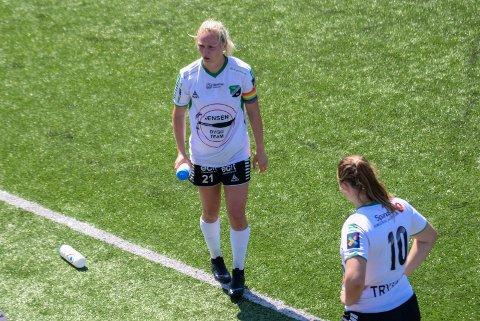 LEVERTE IGJEN: Silje Nyhagen har nok en gang hatt en strålende sesong på topp for HBK.