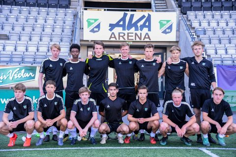 HBK G19: Disse gutta er ett av kun to lokale lag som skal til Norway Cup i år.