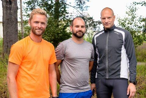 Ola Rolid Tørrisplass, Magnar Haukeberg og Roy Erling Wara er blant fedrene som dro igang Helgerud Runners.