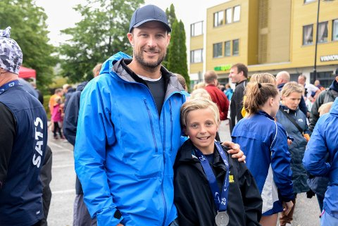 FORBILDE: Aksel Lund Svindal var en stor inspirasjon for Mikkel (12) og de andre XPND-juniorene.
