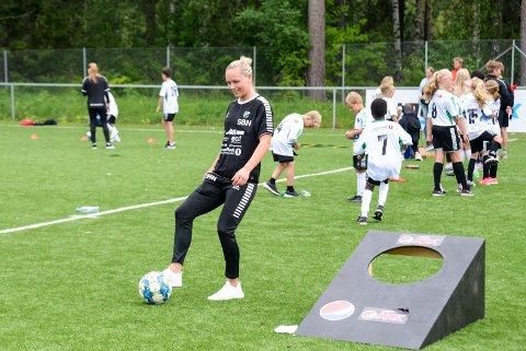 GODE NYHETER: For HBK-kaptein Silje B. Nyhagen er nysatsningen i klubben en svært god nyhet.