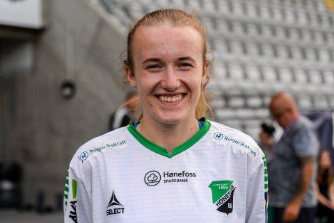 6 LANDSKAMPER: Jenny Strandheim fra HBK har tidligere seks landskamper, og kan få to nye mot Italia senere i januar.
