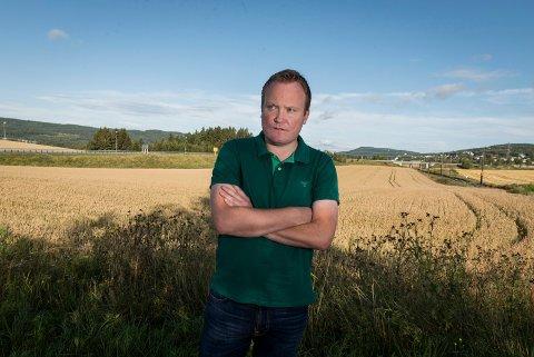TYDELIG KRAV: Hans-Petter Aasen og, Ringerike Senterparti stilte tydelig krav, og dermed låste forhandlingene seg.