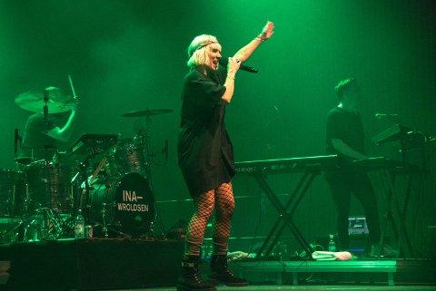 FORSTYRRENDE: Mye ødeleggende prating under Ina Wroldsen-konserten på Sundvollen, sier Solveig K. Pedersen.