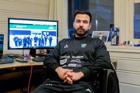 IKKE OVERRASKET: Jawad Rohin (28), utvklingsleder i HBK, synes ikke idrettsforbundets rapport kom veldig overraskende.