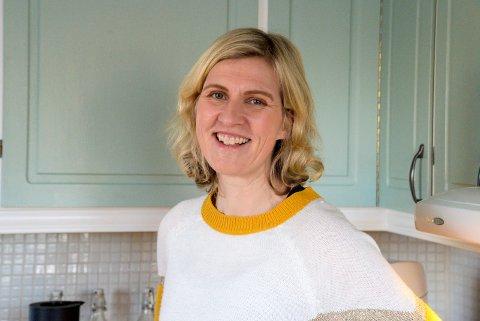 HOPPER I DET: Etter 20 år i kriminalomsorgen, velger Ann Kristin Hådem å satse som personlig trener på Sundvolden.