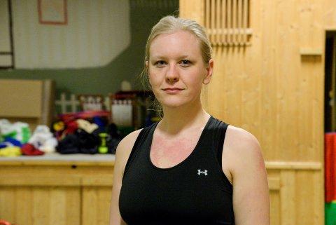 MISTER GYMSALEN: Jeanette Nymoen og Veme Sportsklubb er glade for å beholde tilbudet, hvert fall midlertidig, om trening i gymsalen på Heggen barnehage.