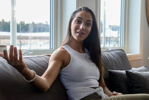 SATSER: Sonja Younessi Arghdeh går for gull under NM i fitness senere denne måneden.