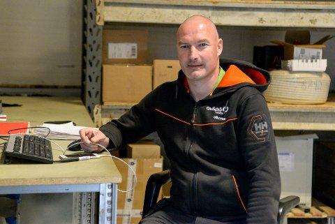 COMEBACK: Frode Lafton er tilbake som elektriker, 15 år etter at han ble fotballproff på heltid.