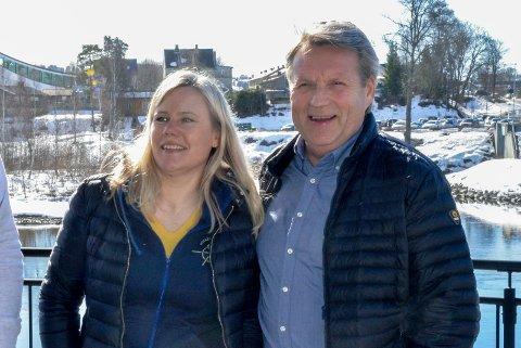 KLARTE MÅLET? Janka Aasen og Tor Frithjov Nerby har styrt Panthers med ett mål denne sesongen. Opprykk. Nå er sesongen avlyst - med Panthers på topp.