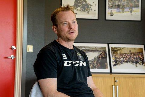 MOTIVERT: Martin Boork har vært Panthers-trener i ti år, men svensken er fortsatt like motivert for å bygge videre på klubbens prosjekt.