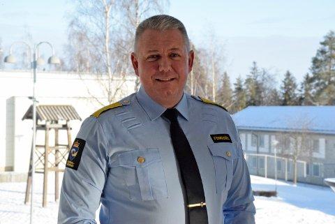 NY STILLING: Fengselsleder Eirik Bergstedt begynner i ny stilling som direktør for kriminalomsorgen sør 1. mars 2021.
