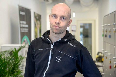 SER LYSET I TUNNELEN: Tom-Erik Lukkedal åpner nok en gang etter nedstengning.