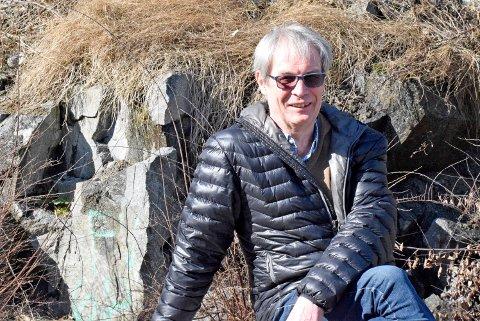 DRØMMER: Drømmesommeren er på hytta på Tjøme, noen turer med fluestanga. Og alle de fem barnebarna, sier Svein Eystein Lindberg (66).