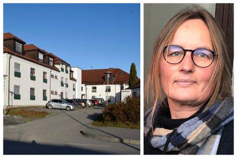 DØDSFALL: To beboere på Hønefoss omsorgssenter døde forrige uke. – Hos eldre med redusert immunforsvar og allmenn svekkelse kan covid-19 utvikle seg til alvorlig sykdom tross vaksine, sier kommuneoverlege Karin Møller.