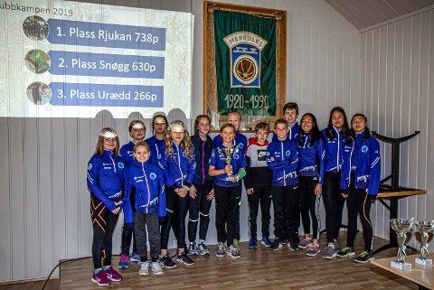 VINNERE: RILs friidrettsgruppe vant Telemarkskarusellen for sjette året på rad.