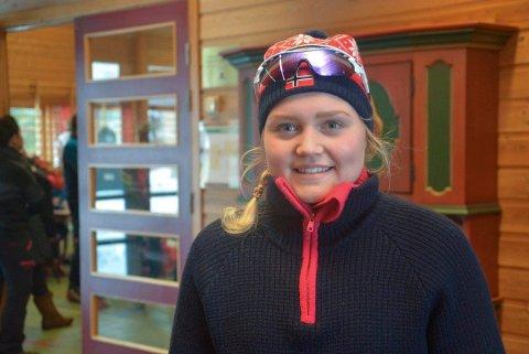 BOMMET PÅ SKIVALG: Vilde Elisabet Flatland lykkes ikke i finske Vuokatti, takket være mangel på riktige ski
