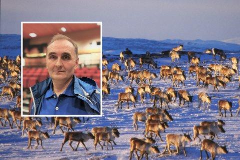 VANSKELIG: Nils Helge Tufto mener det begynner å bli vanskelig å leve i randsonene til Hardangervidda.