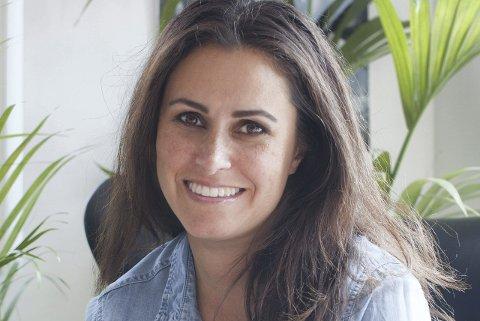 SPENT: Boligstylist Linda Elmin (41) fra Lørenskog er semifinalist i Vixen Blog Awards i kategorien «Årets Interiørblogg». Foto: Hviitblogg.no