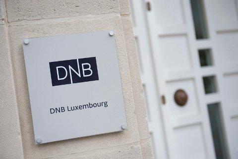 Eksteriør av huset det DnB har sitt kontor. Banken er aktuell i forbindelse med avsløringene av de såkalte Panama Papers.