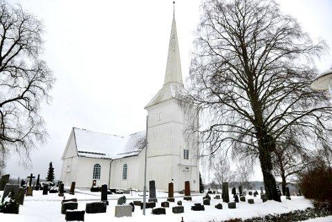 På julaften ble det stjålet en gravlykt fra en grav ved Hovin kirkegård i Ullensaker.