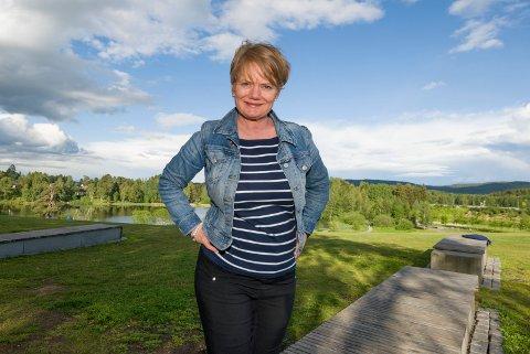 VIGSELSRETT: Ordfører i Lørenskog, Ragnhild Bergheim.