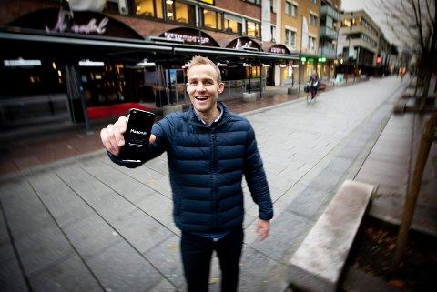 FRA EIENDOMSMEGLER TIL GRÜNDER: Frode Skarsgard Bjørnevik sa opp jobben sin som eiendomsmegler for å satse på ideen sin.