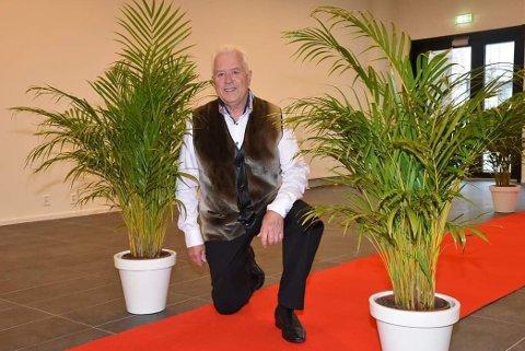 VELKOMMEN: Tom Finne forbereder offentlig dansefest i Lillestrøm lørdag kveld.