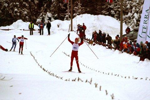 NY MILEPÆL: Nes Skianlegg har vært arene for mange store renn. Her fra Hovedlandsrennet i 2010.