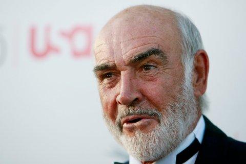 Sir Sean Connery, her avbildet i 2007, ble 90 år gammel.