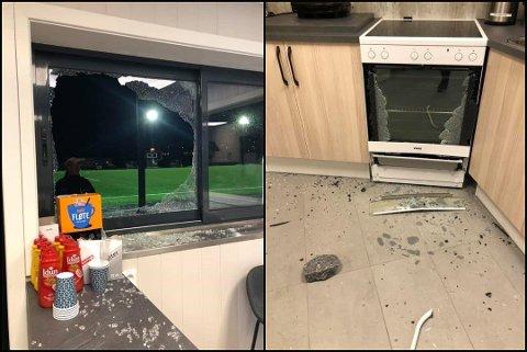 KNUST: Torsdag kveld ble klubbkiosken til Rælingen fotballklubb utsatt fot hærverk. Fredag hadde allerede store summer kommet inn på klubbens konto igjen.