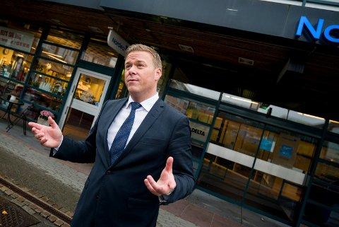 Fondsdirektør i Nordea, Petter Hermansen.