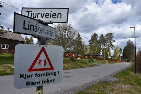 DNA-test av avføring viser at en hunnulv beveget seg gjennom boligfeltet Linåkermoen på Aursmoen.