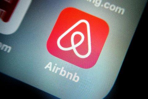 Airbnb appen opplever trafiikk om dagen.