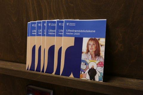 Bilde av høstprogrammet til Lillestrømbibliotekene