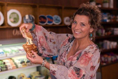 STORTRIVES: Lise Finckenhagen, TV-kokk og kjendis, inntok nylig en annen rolle.