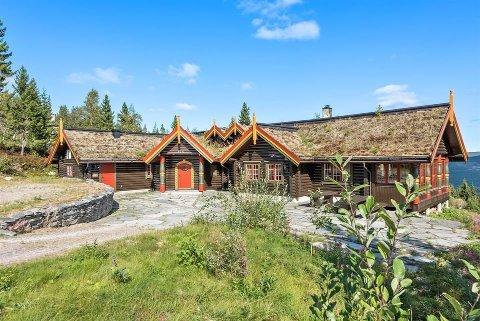 SOLGT: Bjørn Dæhlies hyttepalass i Trysil ble nylig solgt. Prisantydningen var på 13,9 millioner kroner.