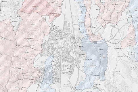 RISIKOOMRÅDER: Ullensaker kommune varsler gjennomgang av utbygginger som er gjort på kvikkleireutsatte områder.