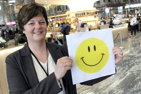 POSITIV: Avdelingsleder Gry Marianne Holmbakken og hennes medarbeidere i Mattilsynet har i år gitt smilefjes på første forsøk ved de fleste inspeksjonene.