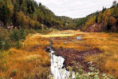 UENDRET: Kommunestyret i Hurum valgte å forkaste nytt forslag til reguleringsplan for Avgrunnsdalen, men ikke alle er fornøyde med nettopp det. Arkivfoto: Henning Jønholdt