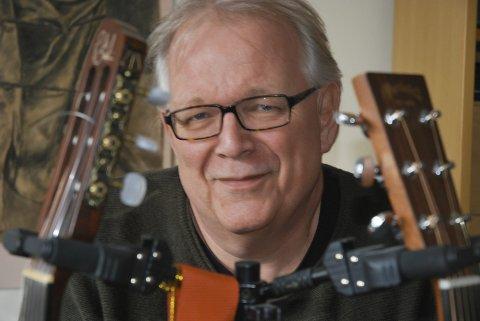 -IKKE KOSEKLUBB: Det er viktig at vi stadig fornyer oss, sier leder for Røyken jazzforum Roar Lindberg.