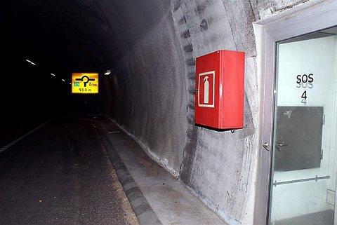 FORSINKET: Det skulle etter planen vært DAB-dekning i Elgskauåstunnelen allerede i fjor, men nå lover Vegvesenet at det blir i orden kommende uke.