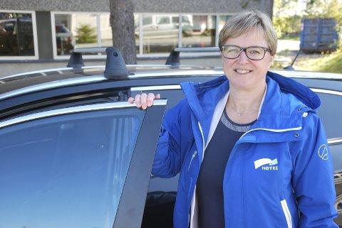 FOR FÅ: Ordfører Eva Norén Eriksen måtte avlyse bussturen for politikerne på grunn av for få påmeldte.Arkivfoto