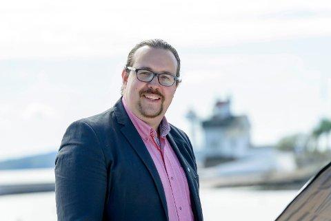 VENSTRE: Christian Dyresen er kandidat til høstens kommunevalg.