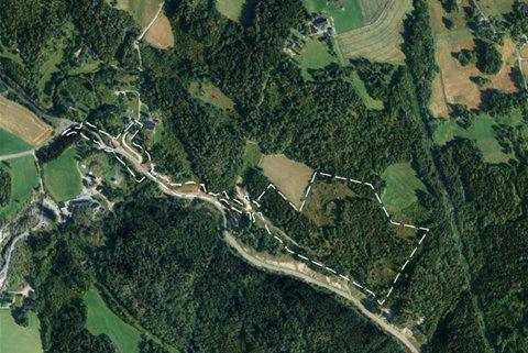 REVIDERT: Onsdag får Utvalg for plan og byggesak masseuttak på Hotvet gård opp til ny behandling.
