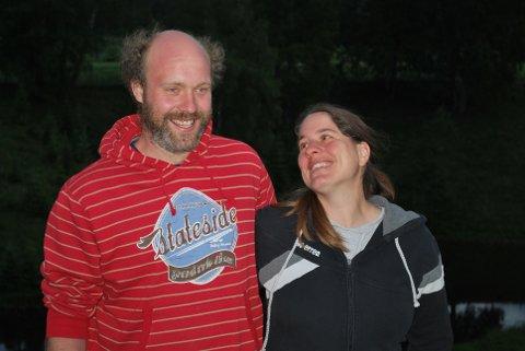 Jakob Volent og Manuala Reiner på Værby gård.