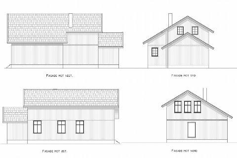 UTBEDRES: Utbygget på speiderhuset i Hyggenveien er i dårlig forfatning og Hyggen speidergruppe har søkt om fasadeendring i forindelse med utbedring av råteskadene.