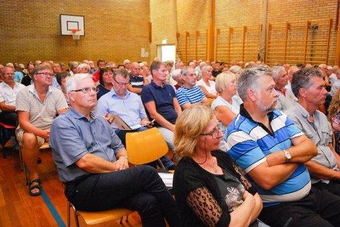 I forrige uke ble det arrangert folkemøte i Re om retningsvalg ved kommunesammenslåing.