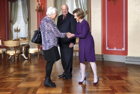 Afternoon Tea: Rannveig Horntvedt ble invitert til teselskap hos kong Harald og dronning Sonja. ARKIVFOTO: NTB scanpix
